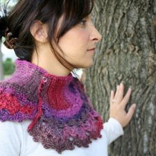 Finished Crocheted Neck Warmer & Wishing to be Finished
