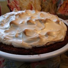 Thanksgiving Wishes & Sweet Potato Pie with Marshmallow Meringue