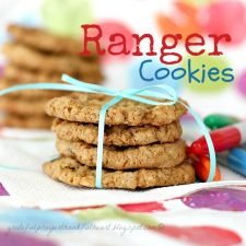 Ranger Cookies for Back-to-School