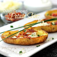 Oven-Crisped Potato Skins