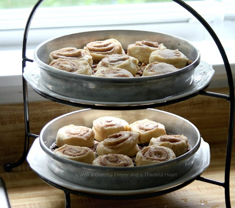 Who can resist soft, sweet sticky buns? Make this recipe for Pecan Sticky Buns easily using a bread machine for the dough. Top with pecans, walnuts or raisins and savor warm from the oven.