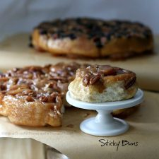Pecan Sticky Buns from Bread Machine Dough
