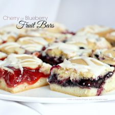 Cherry or Blueberry Fruit Bars