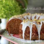 Apple Walnut Bundt Cake