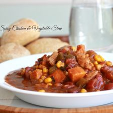 Spicy Chicken and Vegetable Stew