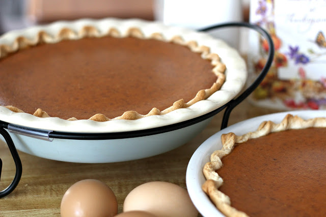 Famous Libby's Pumpkin Pies. This recipe makes two delicious pies! It is a Thanksgiving classic on the dessert table.
