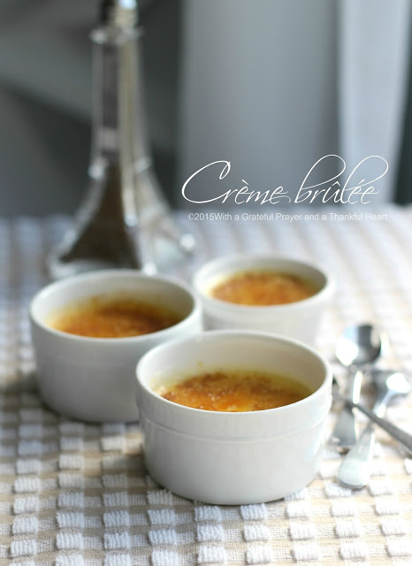 Delicious Creme Brulee is an amazing French dessert that looks difficult. It is not! Easy how-to learned in a Paris Cooking class shows you how.