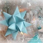 Folded Paper German Star Video Tutorial (6)