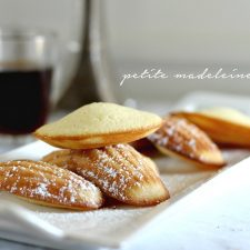 Lemon Glazed French Madeleines