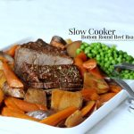Slow Cooker Bottom Round Beef Roast