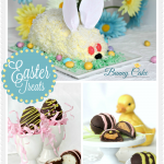 Easter Bunny Cake and Chocolate Candy