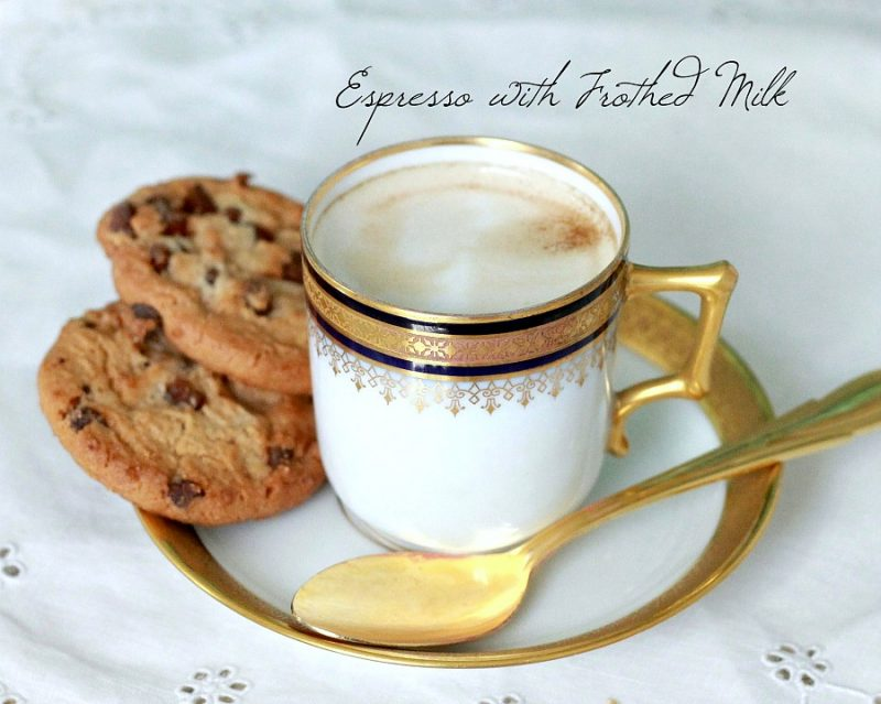 Do you enjoy a good cup of espresso? Make espresso with frothed milk at home using a stove-top maker and enjoy the savings as well as the coffee.