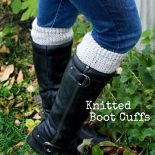 Knitted Boot Cuffs and Cowl Gift Sets