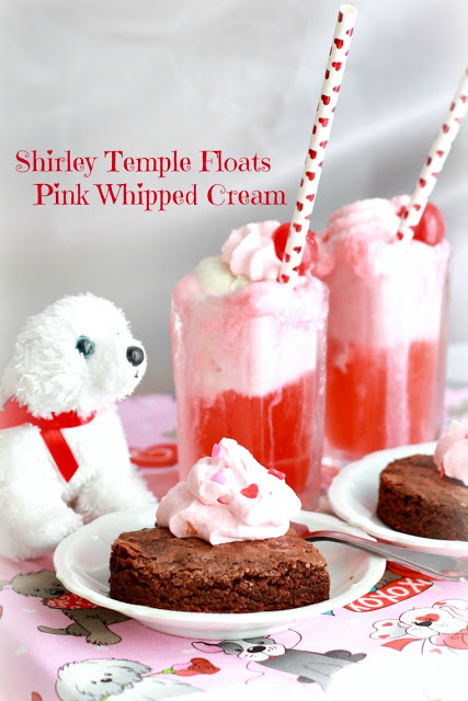 Shirley Temple Floats