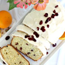 Orange Poppy Seed Tea Bread with Old Friends