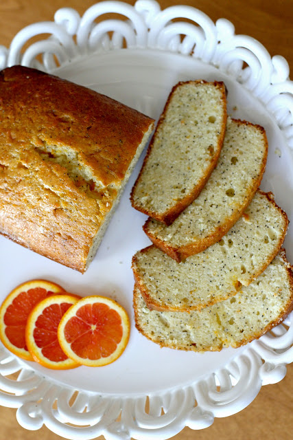 Orange poppy seed tea bread with dried cranberries is lovely for breakfast, snack or to share with friends. Serve frosted or plain. Sweet friendship poem.