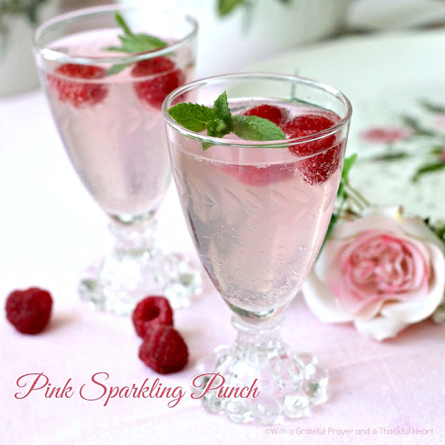 Sugar Free Punch For Baby Shower: Mother's Day Menu And A Vintage Theme Table As We Remember