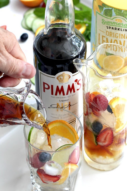 """""""You have to have a Pimm's Cup and toast me from London!"""", we were told. During a recent trip we did and enjoyed this iconic drink of Britain."""
