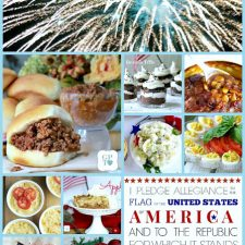 Picnicking, Barbecuing, Cooking-out and CELEBRATING! Collection of 4th of July Foods