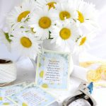 But I Can Share My Daisies with You and Free Printable Gift Tags