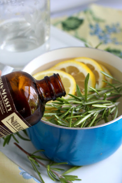Rosemary is a perennial herb and easy to propagate from stem cuttings to make more plants. Rosemary infuses lots of flavor in cooking but it also is a lovely ingredient in this light and clean-smelling, simmering potpourri. Learn to propagate rosemary and make a simmering potpourri from it.