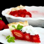 Baking a Strawberry Pie with Kids