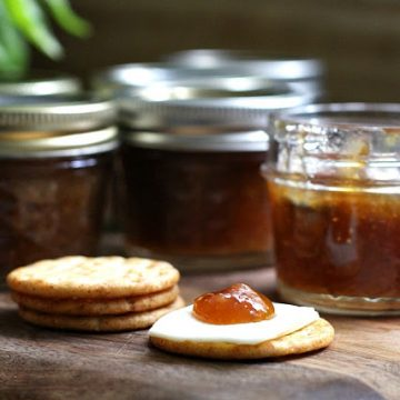Small Batch Canned Fig Preserves from Backyard Fig Tree