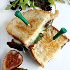 Grilled Cheese with Bacon and Figs