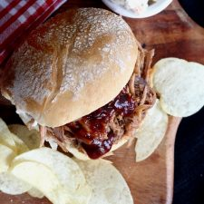 Slow Roasted Pulled Pork Sandwiches