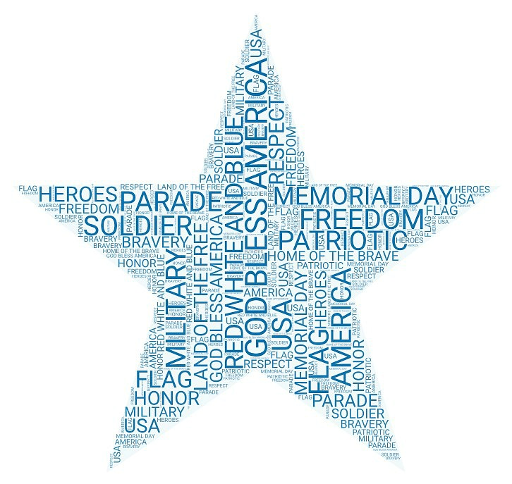 Honoring our Veterans with free Memorial Day printables for Kids. Fun coloring page, a patriotic word search and a page to write a letter of thanks to encourage someone you know that served in the military. Set out some markers and crayons and let the kids celebrate this holiday creatively.