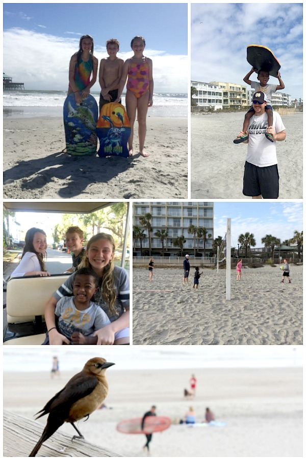 Charleston & Folly Beach Family Vacation Guide for 1st times visitors. Stroll the charming streets of Charleston, shop the City Market, delve into history at Patriots Point and Fort Sumter, and relax, swim, serf and play on Folly Beach. South Carolina at its best for kids and adults.