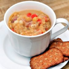 Split Pea Soup with Barley