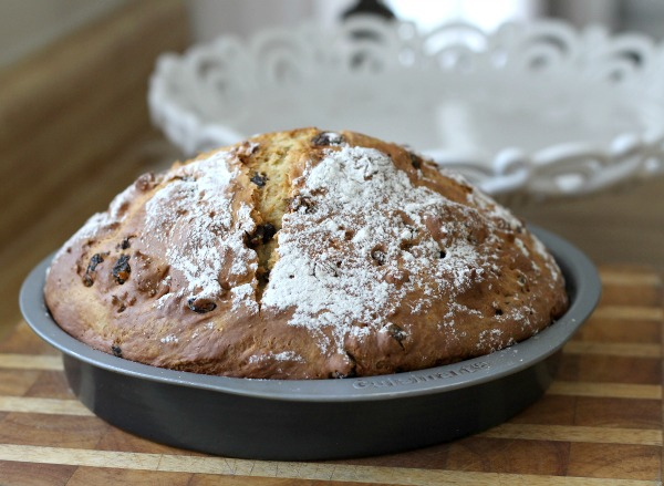 What would St Patrick's Day be without a traditional loaf of Irish Soda bread. And today is a good reason to bake up a loaf even if you aren't Irish. It is just perfect with a cup of tea and yet hearty enough to serve along side a meaty entree.