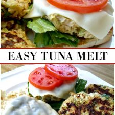 Tuna Melt Patties Simple Sunday Lunch