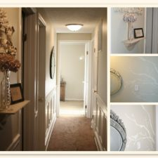 Finished Projects Part 1 ~ The Hallway