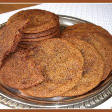 TWD ~ Sugar-Topped Molasses Spice Cookies