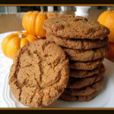 Ginger Crinkles Cookie Recipe