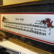 Vintage Silent Night Counted Cross Stitch