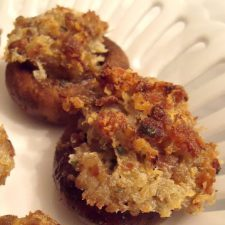Sausage-Stuffed Mushrooms for a Great Holiday Appetizer