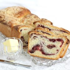 Cranberry Swirl Bread Loaf