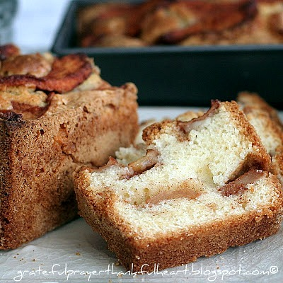 Incredibly delicious and moist Jewish Apple Cake from Mom's vintage recipe. Baked in a bundt pan and filled with the wonderful flavors of autumn.