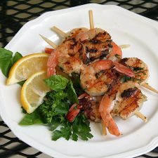 Grilled Herb Shrimp