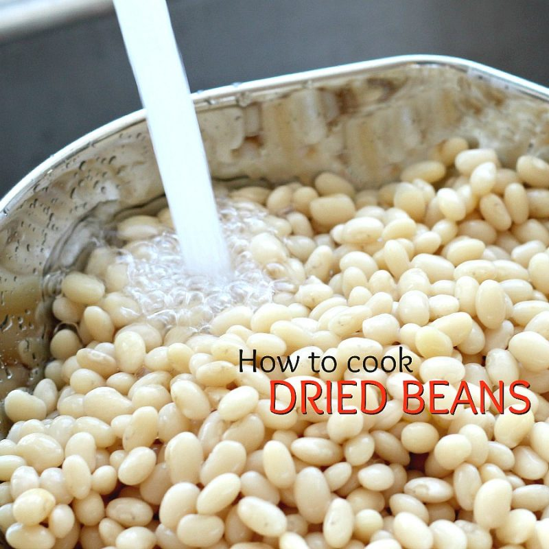 Homemade baked beans take a little time but so worth it! Tender navy or Lima beans in a brown sugar and molasses sauce is a perfect side.