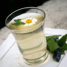 Chamomile Lavender Mint Iced Tea