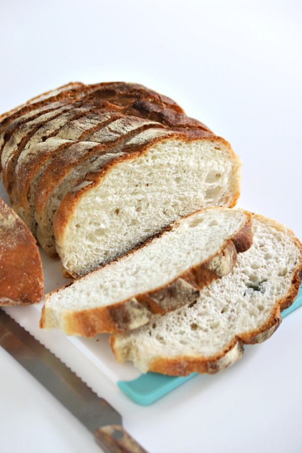bread for grilled vegetable panini