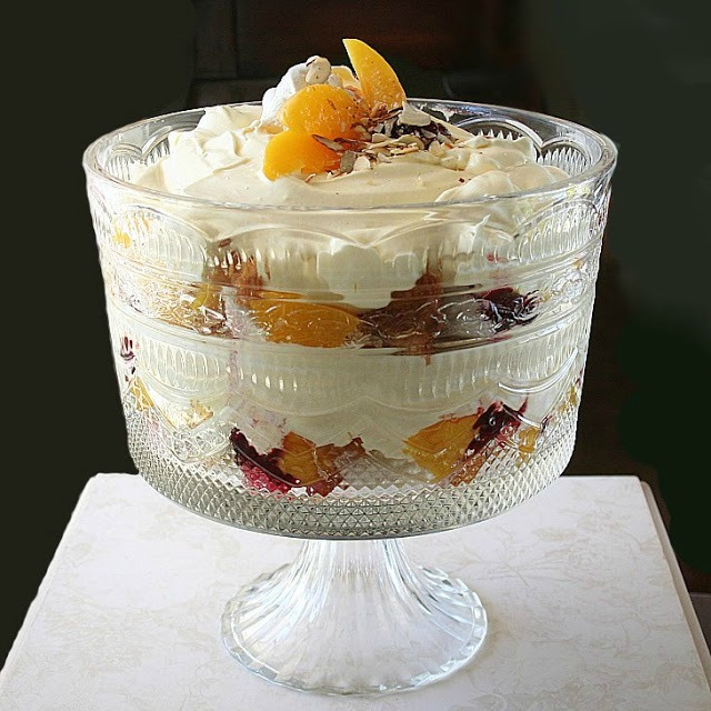 Looking for a recipe that is both delicious and pretty. Make an easy, no-bake, light and creamy Peach Melba Trifle. It is a dessert your guests will love.