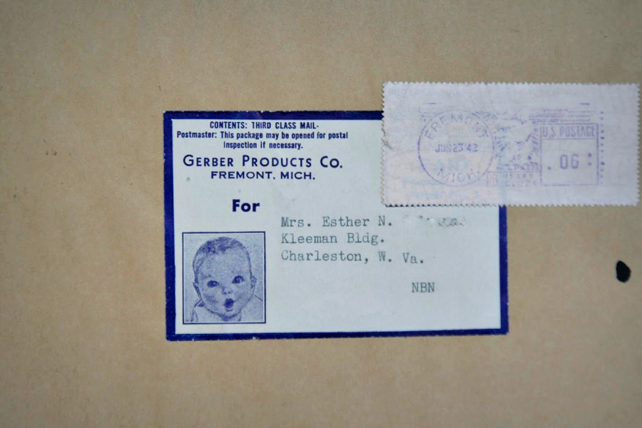 A highly recognized and loved sketch by artist Dorothy Hope Smith. In 1928 Gerber was looking for a face to represent a baby food ad campaign. The baby Ann Turner Cook posed and became the precious Gerber Baby.