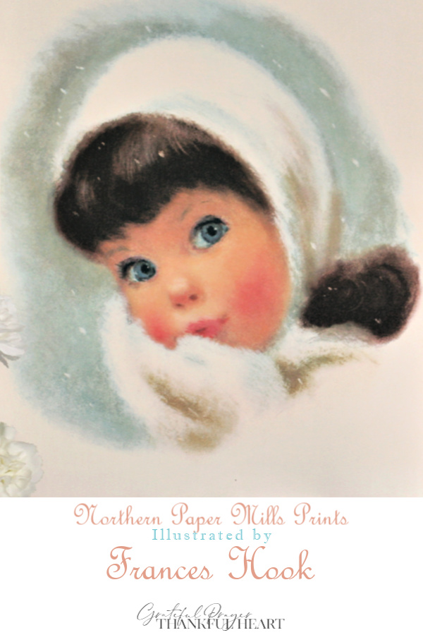 American Beauties, a series of prints of children by Frances Hookbegin to appear in the Northern Tissue advertisements in 1958 as the original Northern Girls.