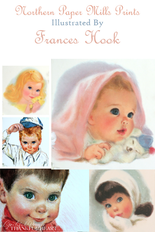 American Beauties and All American Boys, are a series of children prints illustrated in soft pastels by Frances Hook. They promotional prints from Northern Paper Mills, later Northern Tissue.