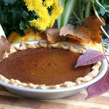 Caramel Pumpkin Pie